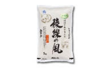 R001 特別栽培米 稜線の風(ひとめぼれ) 5kg【400p】