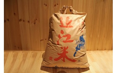Q022 『近江米』 特別栽培 キヌヒカリ玄米 30Kg【17000pt】