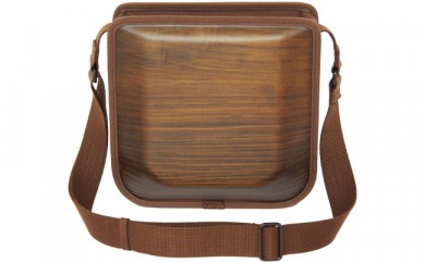 monacca-bag postman(ブラウン)【6000pt】