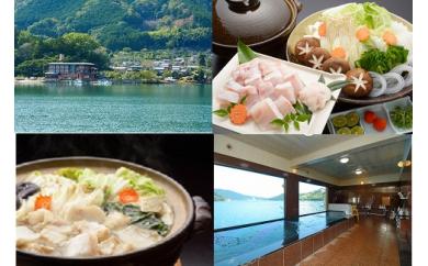 OSV-② 天然クエ・季節の天然魚介類会席コース宿泊券(2名様)
