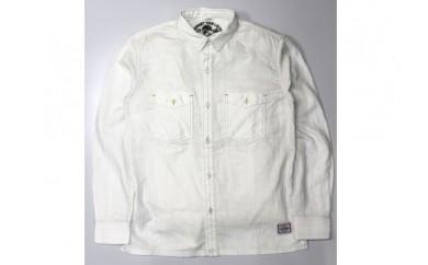 [№5631-0113]GONZO SURFダブルガーゼボタンシャツ オフホワイト L