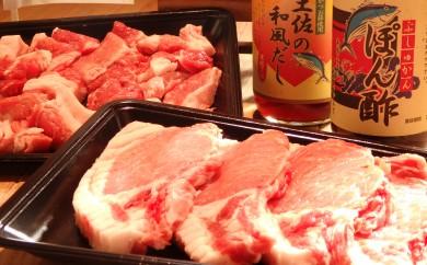 ブランド豚ステーキどーんと880gと絶品調味料のお得セット