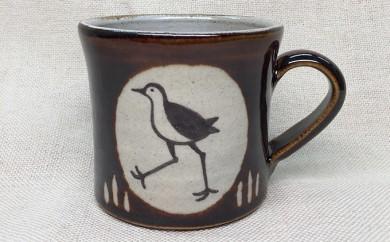 [№5747-0101]シロハラクイナのマグカップ 1点
