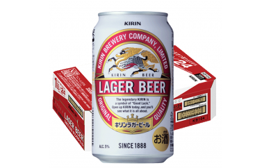A344 キリンラガービール 350ml缶3ケース【福岡工場製造】