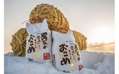 日本最北の水稲北限地 もち米「風の子もち」