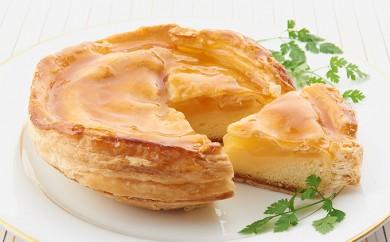 [№5890-0059]オホーツクで焼き上げる絶品の手作りアップルパイ