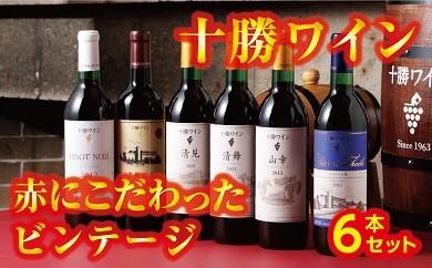C01-1 「十勝ワイン」 赤にこだわったビンテージ6本セット