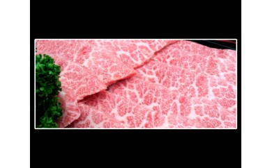 No.040 特選黒毛和牛カルビ焼肉 600g