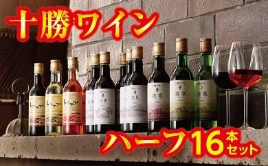 C01-3 「十勝ワイン」ハーフ16本セット