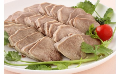 【A003】【豚タンの特製タレ漬け】日本初上陸-伝統中国料理-鹵菜(ルサイ) 真空パック185g【30pt】