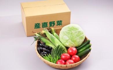 30A3010④ 天童産・産直野菜の詰め合わせ(10月分)