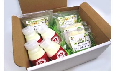 【A-32】藤井牧場 飲むヨーグルト&チーズセット