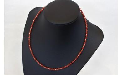 C-5 地中海産赤珊瑚(サルジ)ネックレス K18
