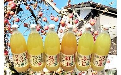 松-001 信州産りんごジュース6本セット