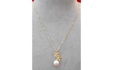あこや真珠デザインネックレス【30-3】