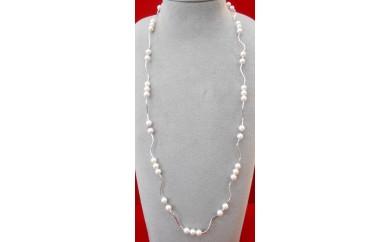 あこや真珠デザインネックレス【5-1】