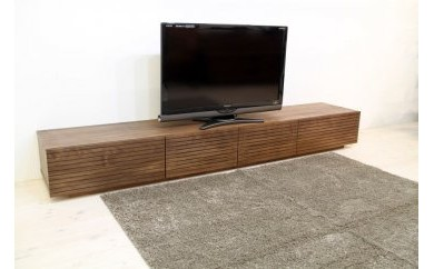 BN127 風雅 テレビボード テレビ台 W2200 ウォルナット スリット【620,000pt】