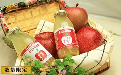 A-065 リンゴジュース180ml 10本(ジョナゴールド&北斗5本・ハックナイン5本)