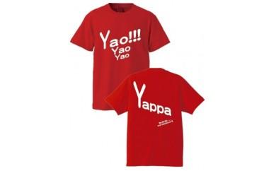 B134 「やっぱ八尾やろ!Tシャツ」(yaoT)赤
