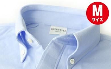[№5630-0258]「すみだモダン」丸和繊維工業INDUSTYLE TOKYO動体裁断シャツサックス(M)
