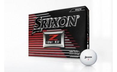 ゴルフボール スリクソンZ-STARXV(ホワイト・3ダースセット36球)