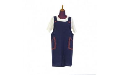 48.地元産の織物「キッチンエプロン」