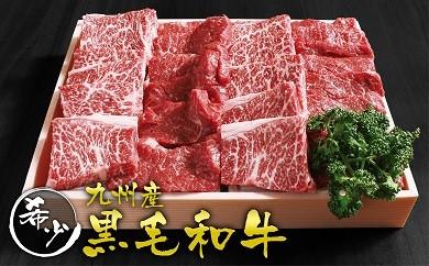 D-40 九州産希少黒毛和牛 焼肉5種盛りセット 1200g(4~5人前)