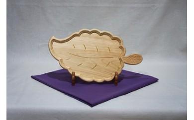 015-018 菓子鉢(木の葉)