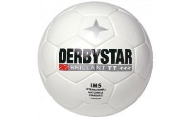 G02-1 DERBYSTARサッカーボール(Brillant TT WHITE)4号