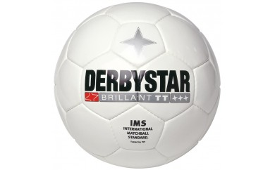 G02-2 DERBYSTARサッカーボール(Brillant TT WHITE)5号
