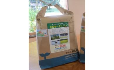 BI04_特別栽培のミルキークイーン2kg定期便+古河市の特産品つき