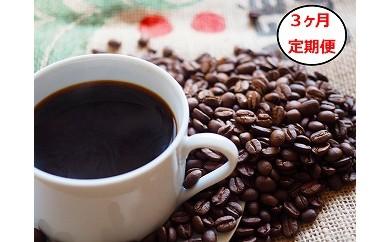 V-10 【3ヶ月定期便】プレミアムショコラ 3種ロースト飲み比べセット(挽き豆)
