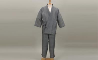 【E2901】小千谷縮作務衣