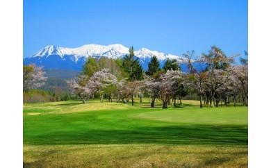 C44 鈴蘭高原カントリークラブペアゴルフプレー券(ペンション宿泊付)