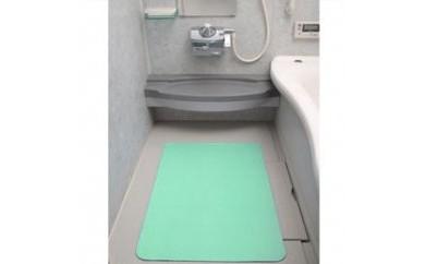 T180 お風呂洗い場マット-グリーン(60×90cm厚み3mm)【30p】