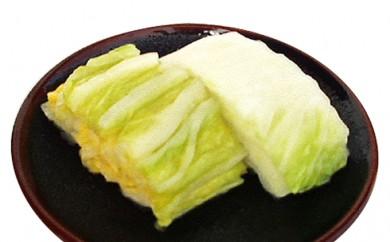 [№5664-0069]【ゆたかや】 箱入 仙台白菜漬け 3kg