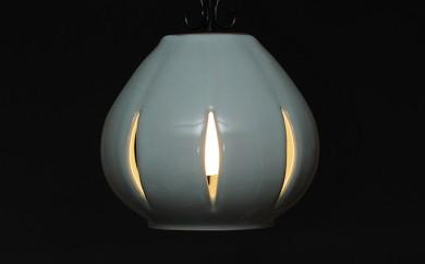 [№5838-0046]陶器照明 ペンダントランプ 「蕾 TSUBOMI」ライティングレール方式