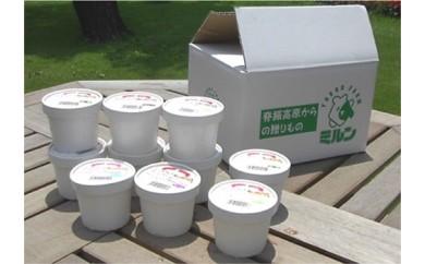 17142.佐賀脊振高原牧場の手作りアイスクリームセット