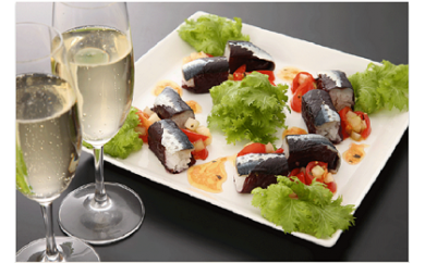 お寿司を超えた、お寿司!大分 佐伯発「いわし赤丸寿司」