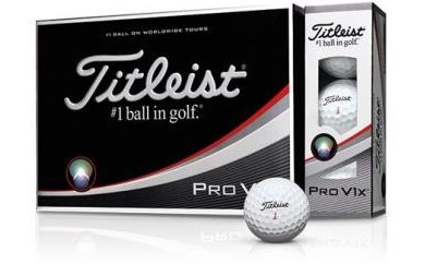 ゴルフボール タイトリストPROV1X(ホワイト・3ダースセット36球)