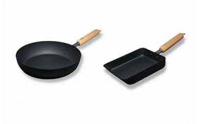 1701083 マグマプレート 鉄フライパン&鉄玉子焼き