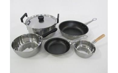 1710013 KOINU お料理ワンランクアップ鍋・フライパンセット
