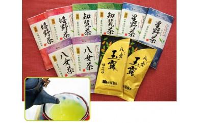 No.039 西福製茶 九州一番摘み銘茶飲みくらべセット(10本セット)