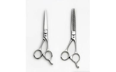 1710015 髪はさみ カット鋏&梳き鋏セット「C」 ※プロ仕様