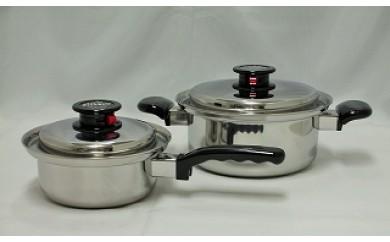 1703037 ピナクル多層鋼鍋2点セット