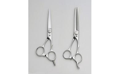 1804016 髪はさみ カット鋏&梳き鋏セット「A」