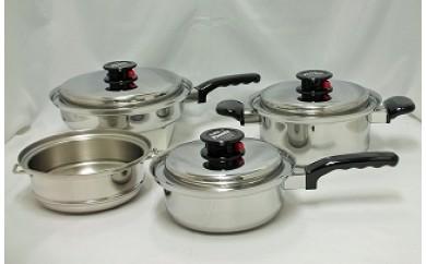 1805022 ピナクル 多層鋼鍋(スチーマー含) 4点セット