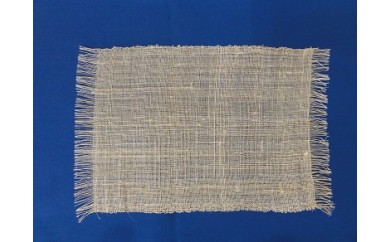 501 青そ織り「夕づる」テーブルセンター