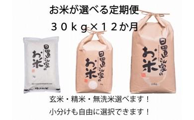 002.プレミアム(定期便) 【H29年 秋発送開始】日置さん家のお米 選べる30kg×12か月定期便