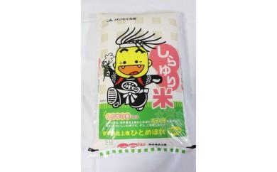 しらゆり米(ひとめぼれ10㎏)